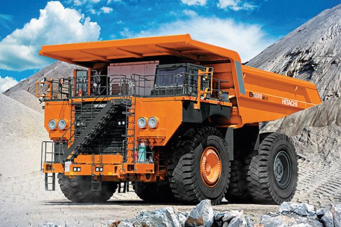 Camiones Hitachi
