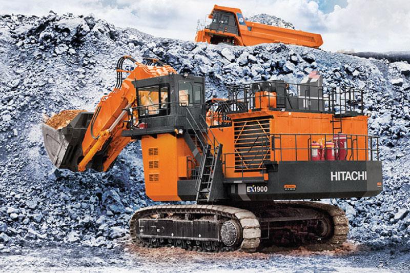 Zamine Palas Hidráulicas y Camiones Hitachi